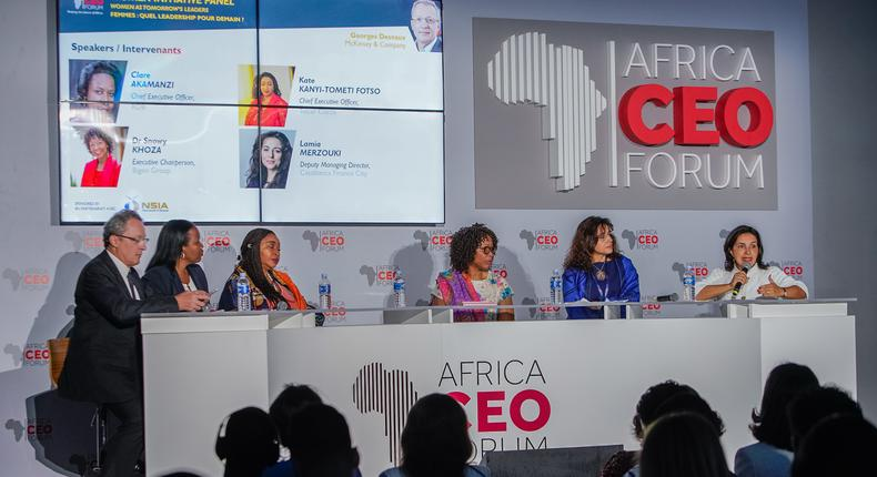 Women Initiative Panel at the Africa CEO Forum