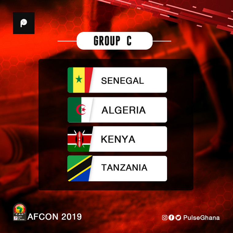 AFCON Group C