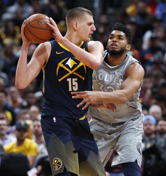 Budućnost NBA je stigla: Nikola Jokić i Karl-Entoni Tauns