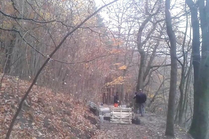 budowa schodów na Pachołek