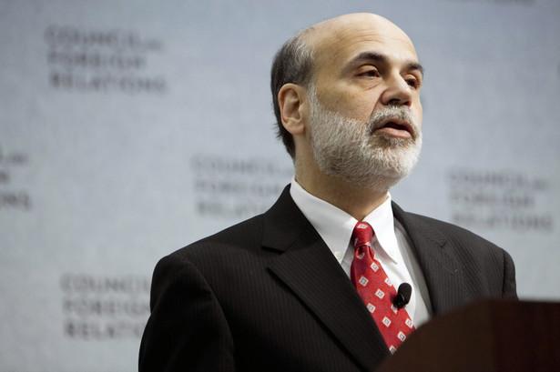 Ben Bernanke, szef Rezerwy Federalnej USA.