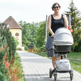 Otylia Jędrzejczak aktywną mamą