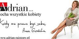 Anna Grodzka w reklamie rajstop. Chce być sobą