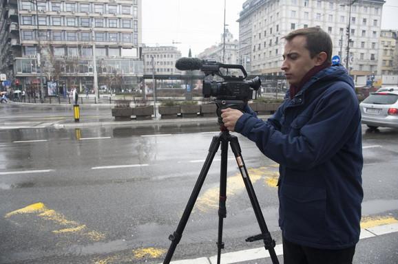Viktor Laregina na ulicama srpske prestonice