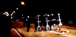 Zamieszki w Legionowie! Tłum szturmował komendę! Są ranni!