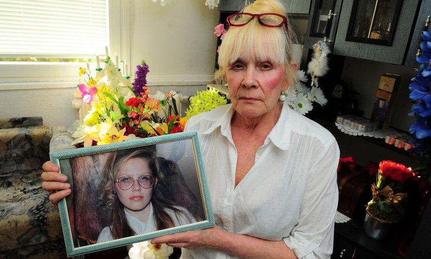 Pani Danuta ma żal do policji, że tak długo szukała zwłok zamordowanej Joanny Gibner