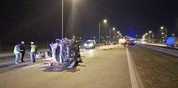 Kierowca wjechał na S8 pod prąd i zginął