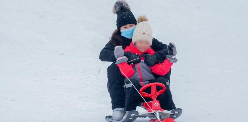 Tak rodzina Cichopek szaleje na śniegu
