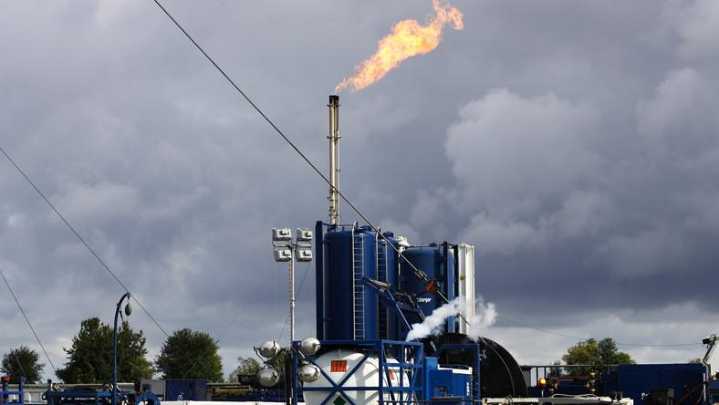 Gaz łupkowy w Lebieniu