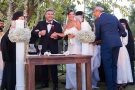 DOSAD NEVIĐENE FOTOGRAFIJE Pevač pred poznatim zvanicama oženio lepu Hrvaticu, a ove detalje su krili
