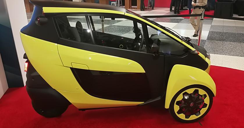 Toyota iRoad, częśc systemu transportu miejskiego Ha:mo