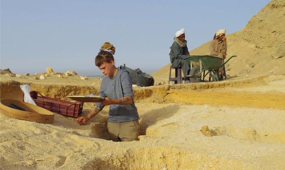 Iskopavanje grobova u Amarni