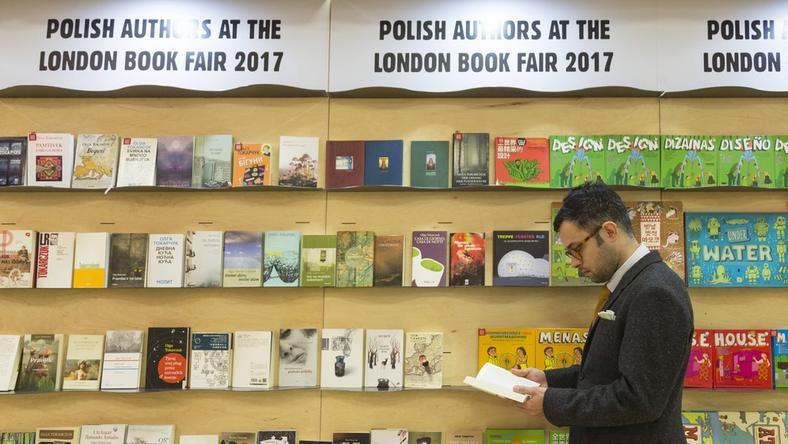 Polskie stoisko na London Book Fair