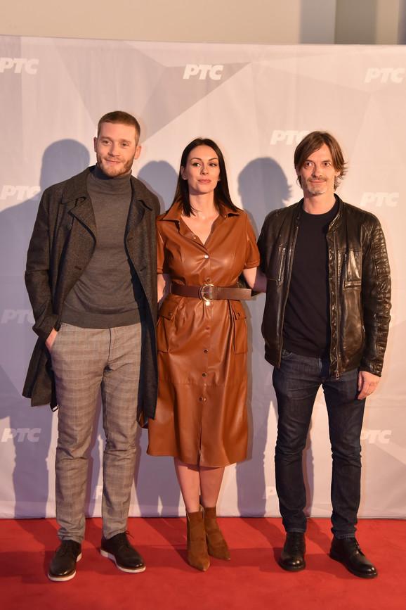 Sloboda Mićalović, Aleksandar Radojičić i Goran Šušljik