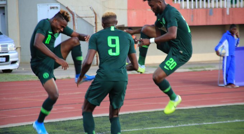 Super Eagles of Nigeria beat Lesotho 4-2 to take control of Group L of AFCON 2021 qualifiers