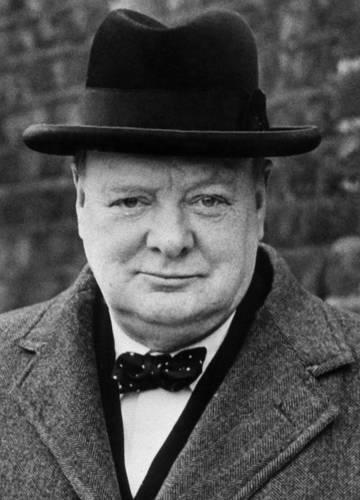A vártnál ötször drágábban kelt el Winston Churchill utolsó festménye -  Noizz