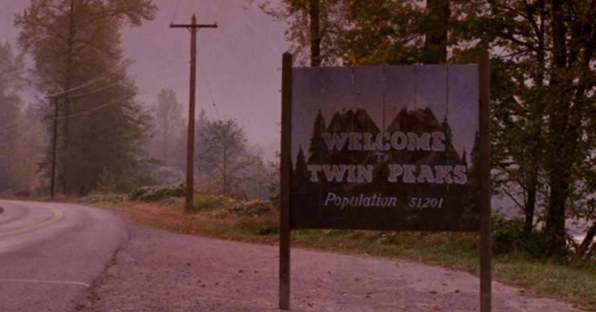 """Słynne ujęcie z czołówki serialu """"Miasteczko Twin Peaks"""""""