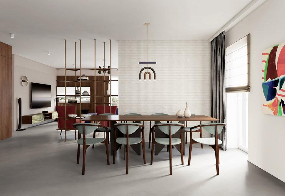 Fiero, czyli 115-metrowe mieszkanie w klasycznym stylu
