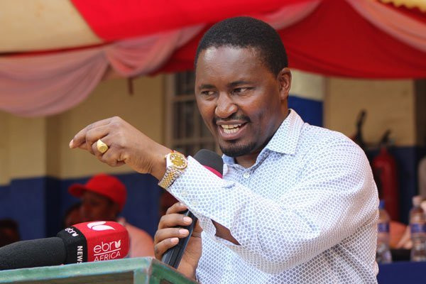 Agriculture CS Mwangi Kiunjuri at a past event