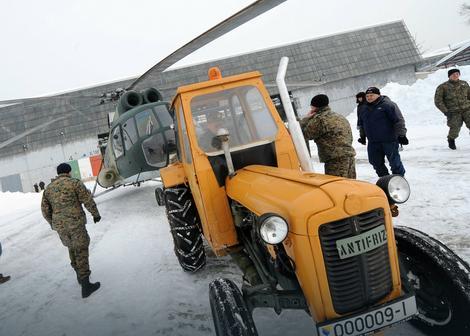 Austrijska vojska pomaže Bosancima