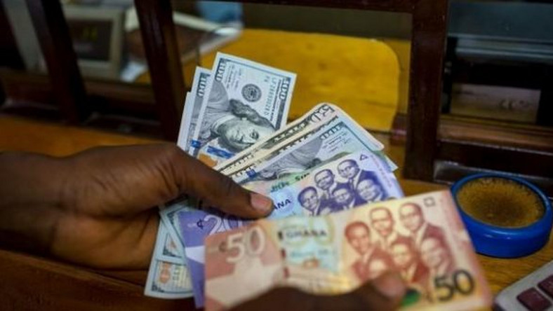 Ghana Cedi depreciating against the US dollar