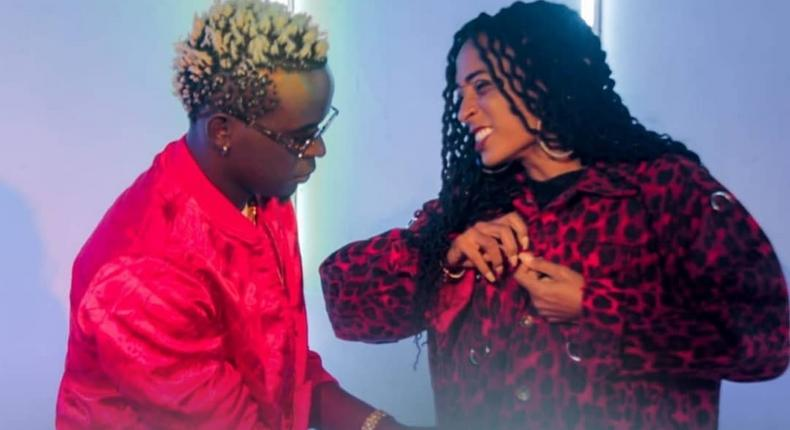 Willy Paul and Alaine (Instagram)
