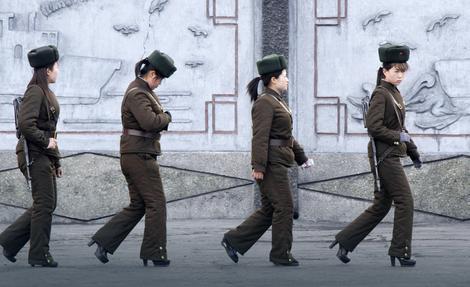 Stabilne i na 10 sentimetara: Žene vojnici u Severnoj Koreji