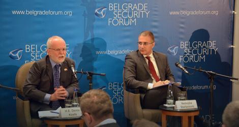 Stefanović i Denis Kif, ambasador Velike Britanije u Srbiji