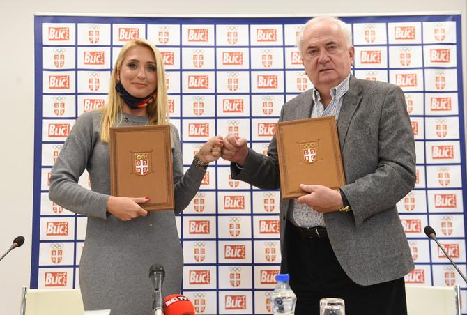 Blic i olimpijski komitet