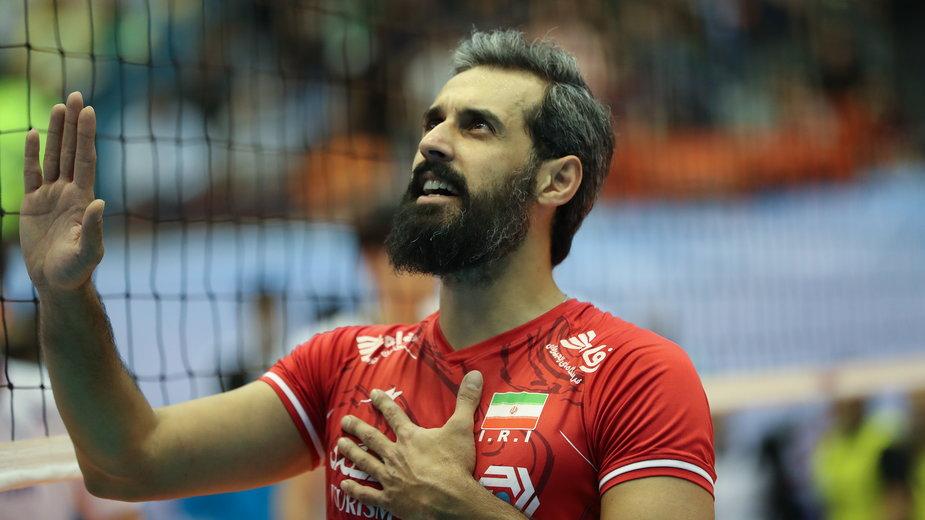 Saeid Marouf kłóci się z sędzią