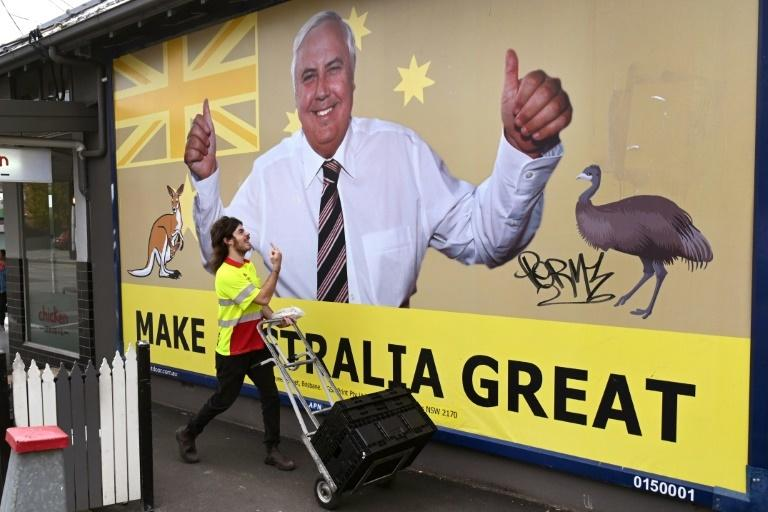 Not all Australians support Palmer's vision