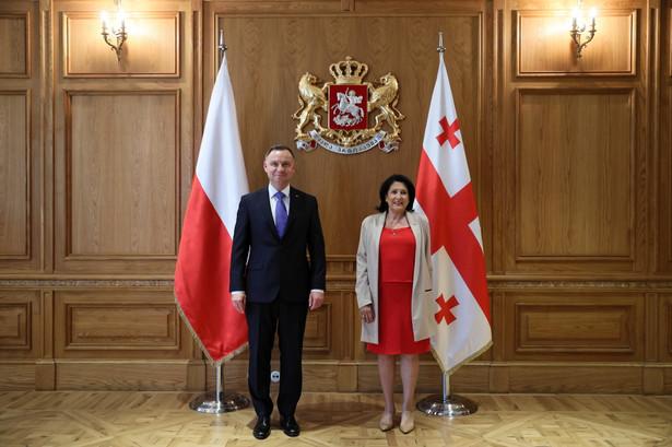 Andrzej Duda, Salome Zurabiszwili