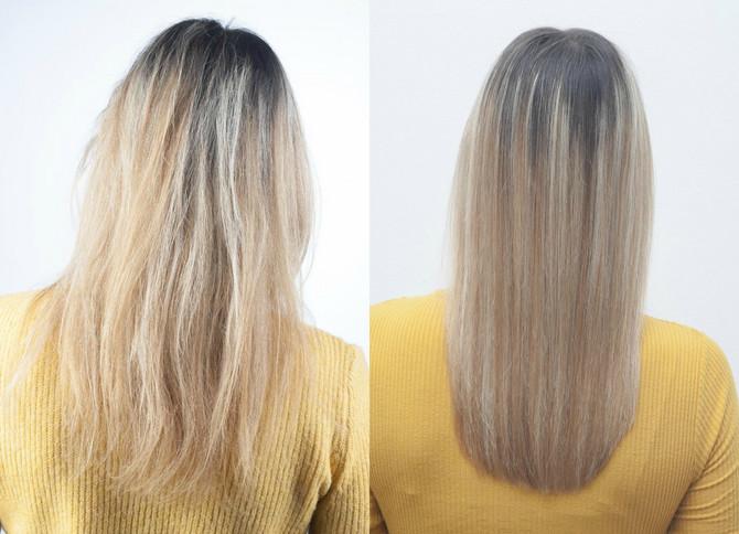 Tamarina kosa pre i posle tretmana