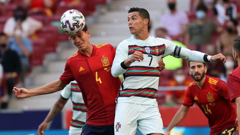 Pau Torres i Cristiano Ronaldo