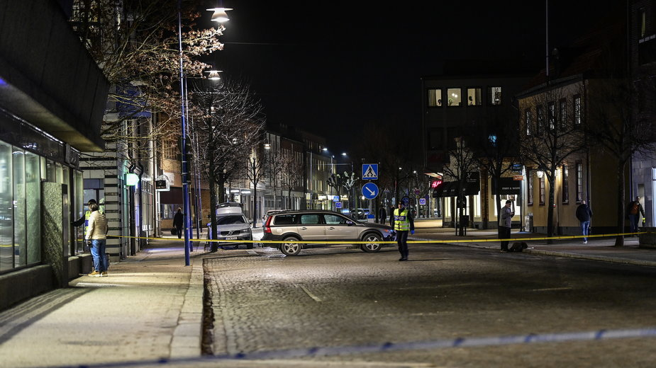 Szwecja: miejsce ataku nożownika zabezpieczone przez policję