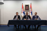 Aleksandar Vučić sa predstavnicima Srba na KiM Promo