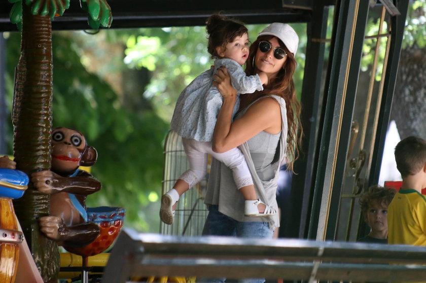 Penelope Cruz z córką