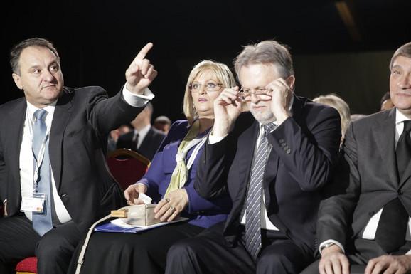 Guvernerka Jorgovanka Tabaković i ministar Dušan Vujović