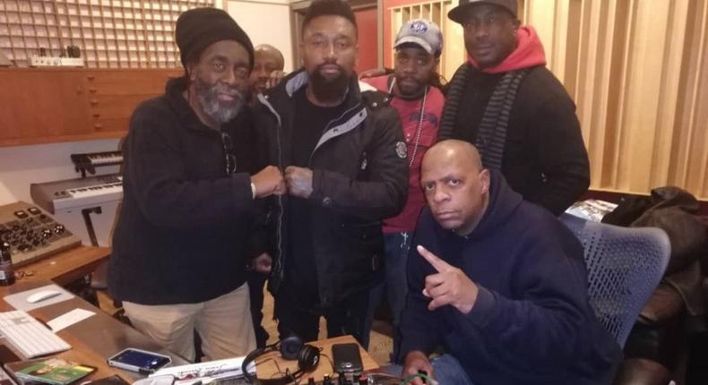 Dance-hall master Quata Budukusu teams up with all time Reggae lord Sidney Mills