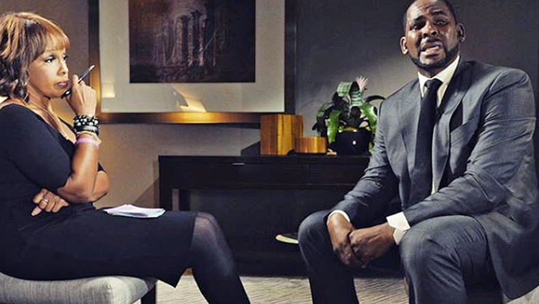 R.Kelly grants first interview with Gayle King since release from jail and has maintained his stance of being innocent of all the sexual abuse allegations leveled against him [HBO]