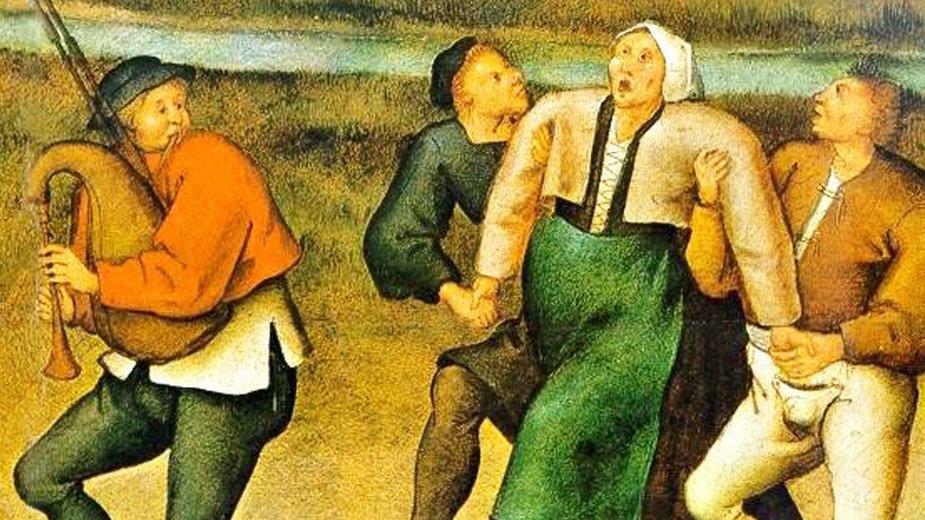 Taneczna plaga objawiała się na tym samym obszarze Europy przez setki lat