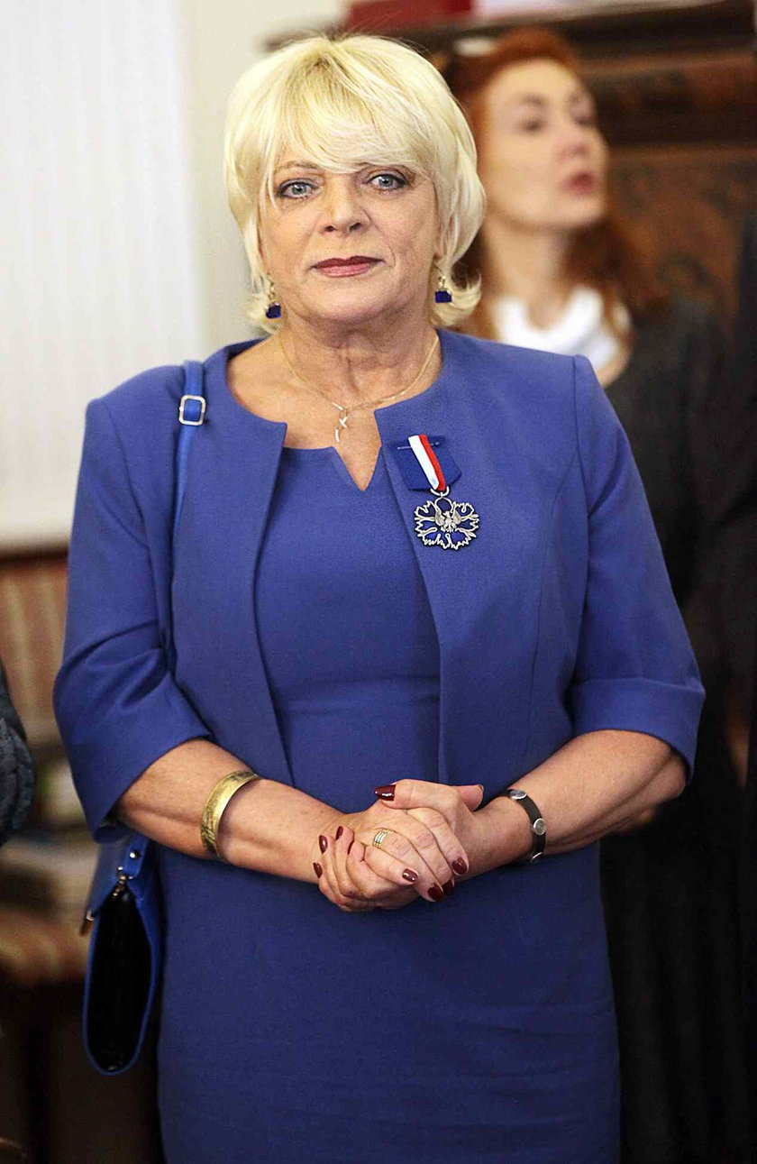 Dorota Stalinska w 2013 roku