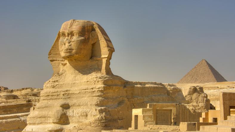 Znaleziono ruiny drugiego Sfinksa z Gizy?