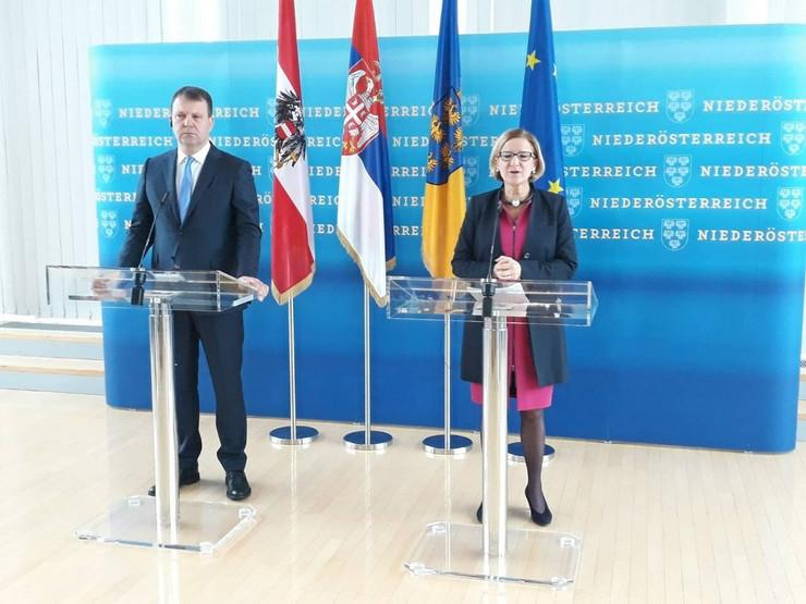 Igor Mirović i Johana Mikl-Lajtner