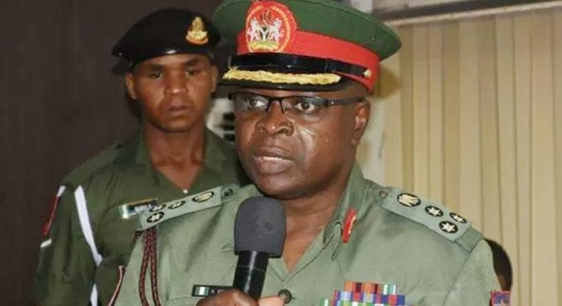 The National Youth Service Corps (NYSC) Director-General, Brig. Gen. Shuaibu Ibrahim. [guardian]