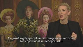 """Cate Blanchett o """"Kopciuszku"""": dobroć jest jak moc superbohatera"""
