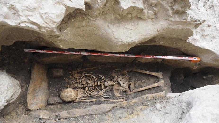Wizygocki grób z pustelni San Tirso y San Bernabé