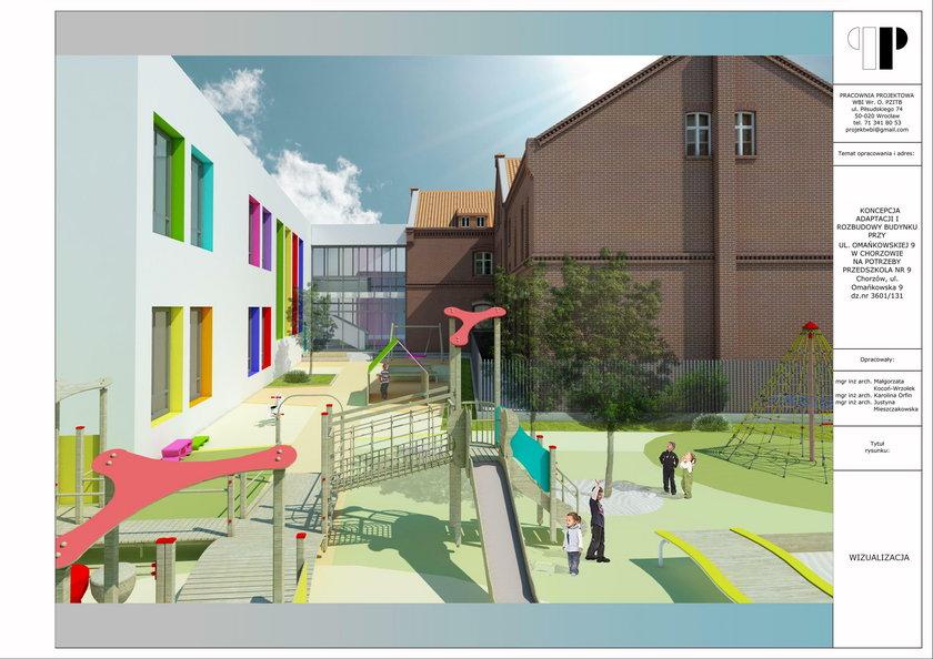 Nowe przedszkole powstaje w Chorzowie