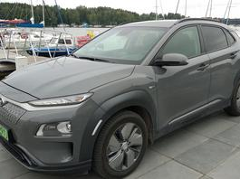 """Hyundai Kona Electric – mój pierwszy raz z """"elektrykiem"""""""