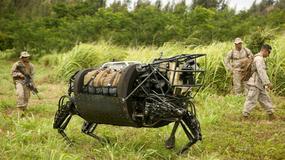 Roboty w służbie armii USA